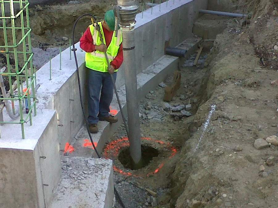 keyholing hydro excavation